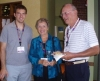 James Wetzel '09, Anne Wetzel Faubel '60, and Gordon Faubel '60
