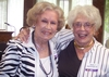 Ginny Peterson Swanson '47 and Phyllis Short Arnold '47