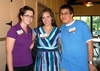 Heather Kopec '10, Erica Jaffe '08, and Marc Dreyfuss '08