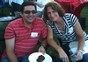 Wilson Garcia '94 and Debbie Weller