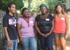 Cameron King '12, Glynnis Boney '13, Sherie Ajayi '13, and Olivia Williams '12