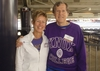 Carol Brown '99 and John Sauter '63