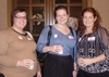 Stefanie Turner '04, Ruth Lane '04, and Monica Hartsock '04