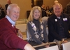 Ted 'Boecker 70, Linda Tyson Boecker '71, and Jim Graunke '70