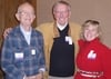 "Rik Henke '56, George ""Iggy"" Matkov '64 and Nancy Matkov"